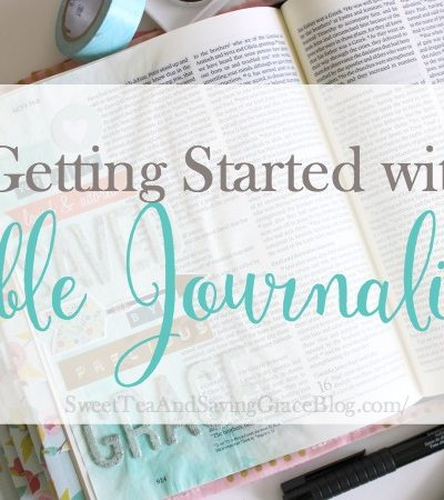 Getting Started with Bible Journaling