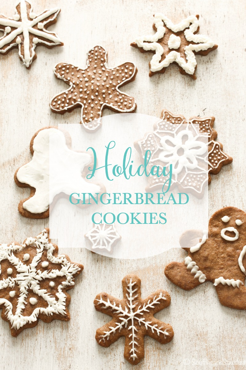 Gluten-free (and guilt-free!) holiday gingerbread cookies recipe.