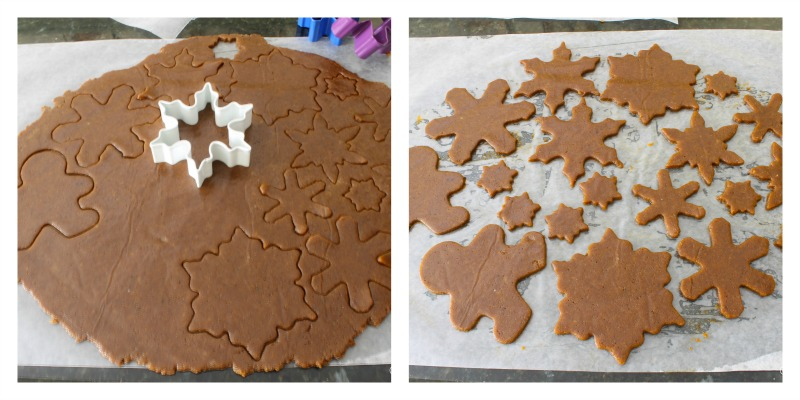 Gluten-free holiday gingerbread cookies recipe.