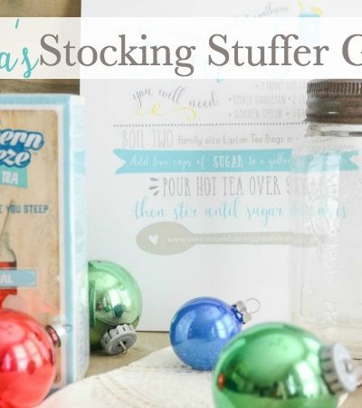 Sweet Tea Christmas Stocking Stuffers