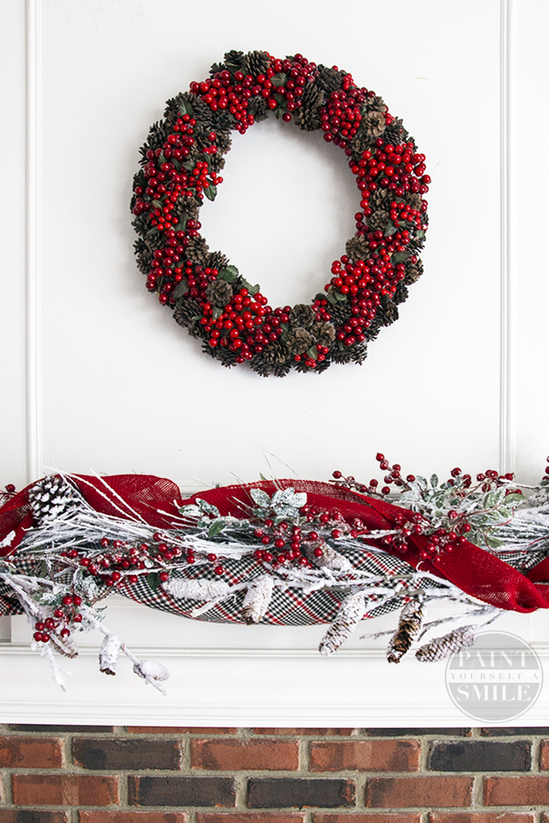 DIY Christmas pinecone wreath that is easy to make and is a stunning addition to any Christmas Décor.