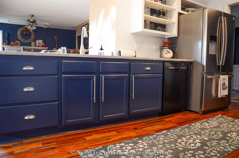 How to Update Kitchen Cabinets on a Budget | Sweet Tea ...