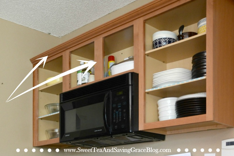 How to Update Kitchen Cabinets on a Budget | Sweet Tea Ministry