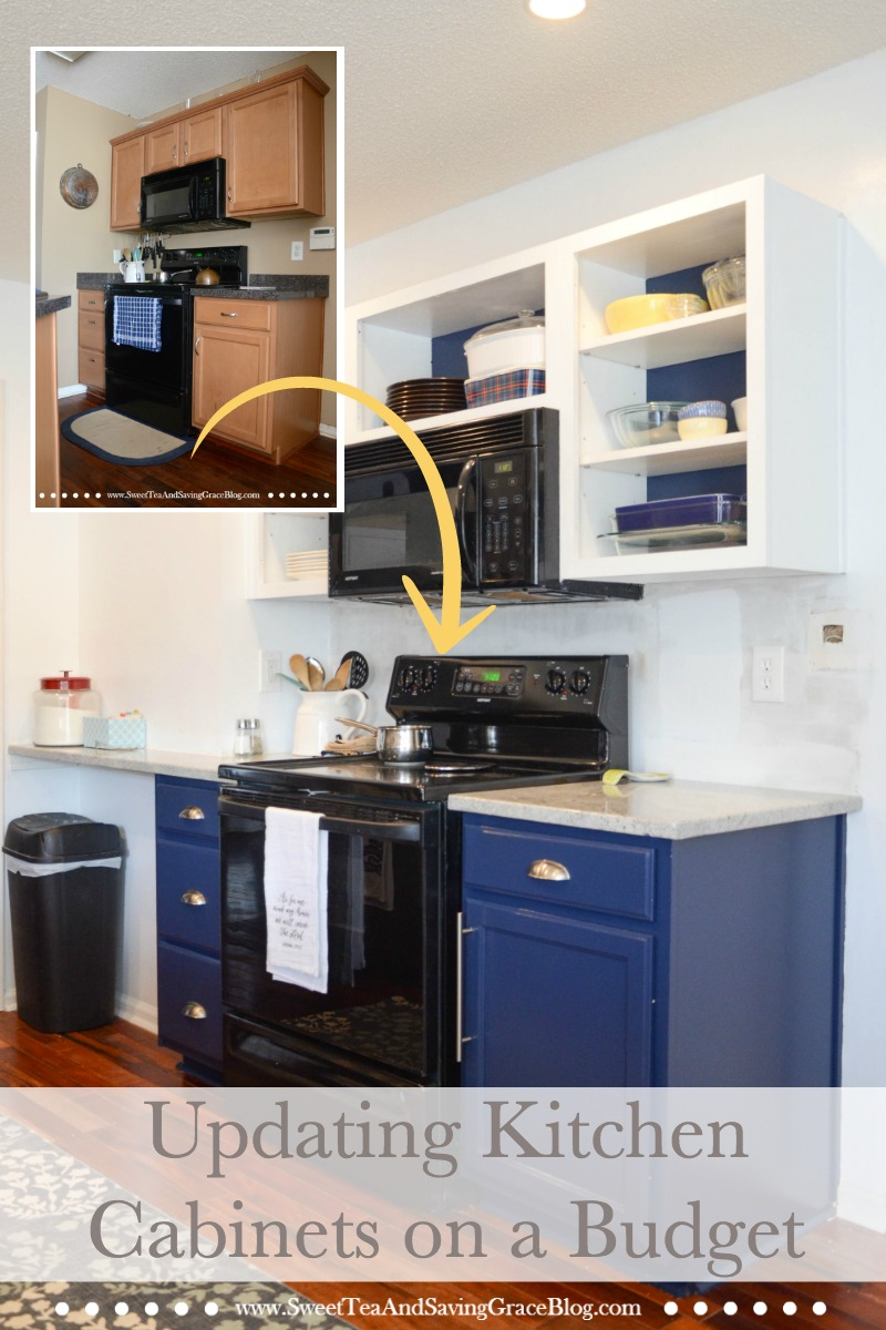 You Can Drastically Update Your Existing Kitchen Cabinets On A Budget With Just Few