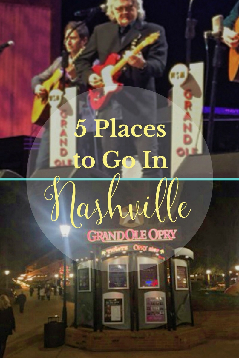 5 Places To Go In Nashville | Country Music Hall of Fame, Centennial Park, Lower Broadway, Bluebird Cafe, Grand Ole Opry