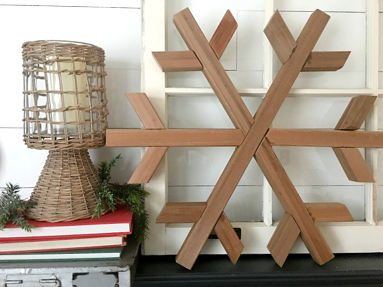 Scrap Wood Projects snowflake