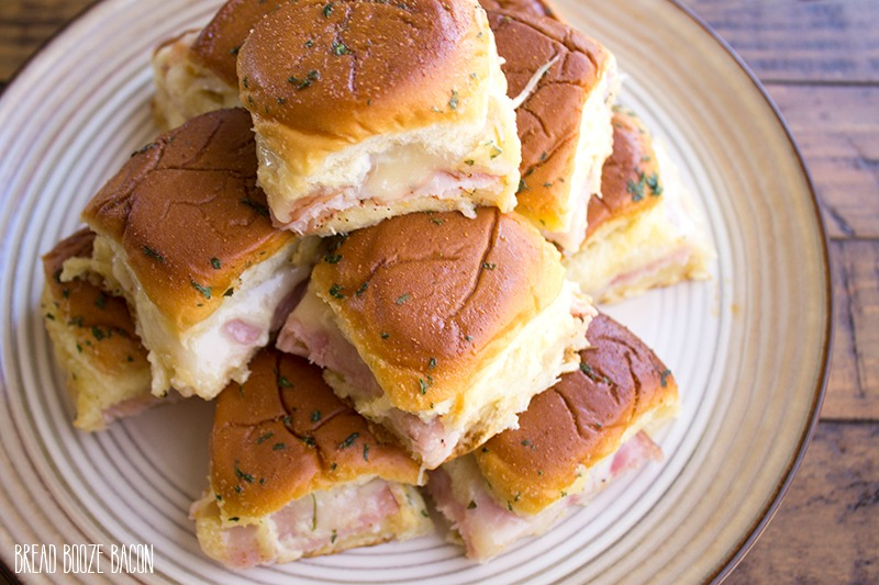 Game Day Club Sliders are the perfect appetizer for your pigskin-loving crowd to enjoy!