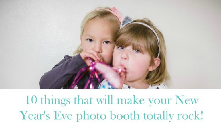10 New Year's Eve Photo Booth Props