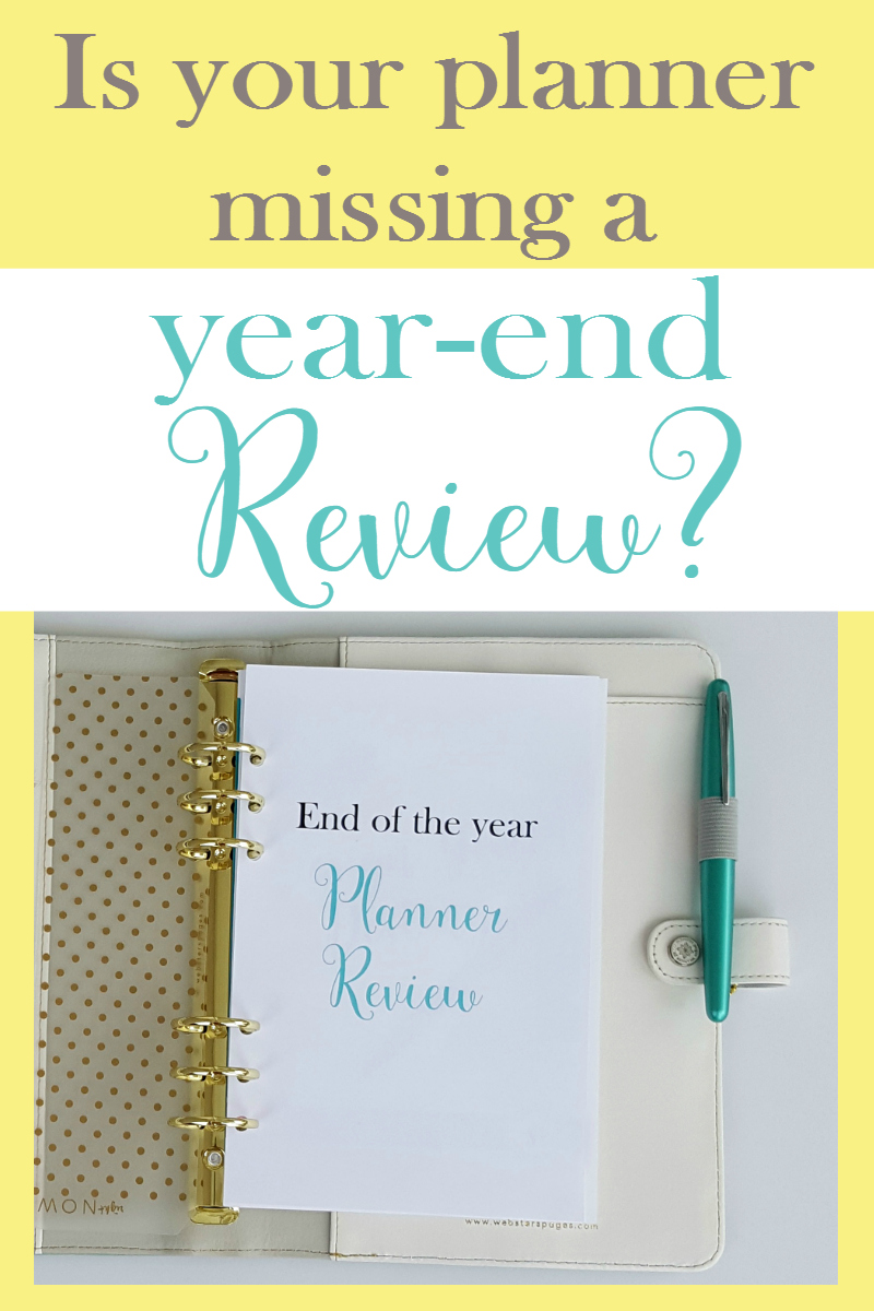 Ideas for reviewing the past year before making goals for the new year!