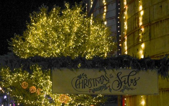 Experience Christmas at the Silos!