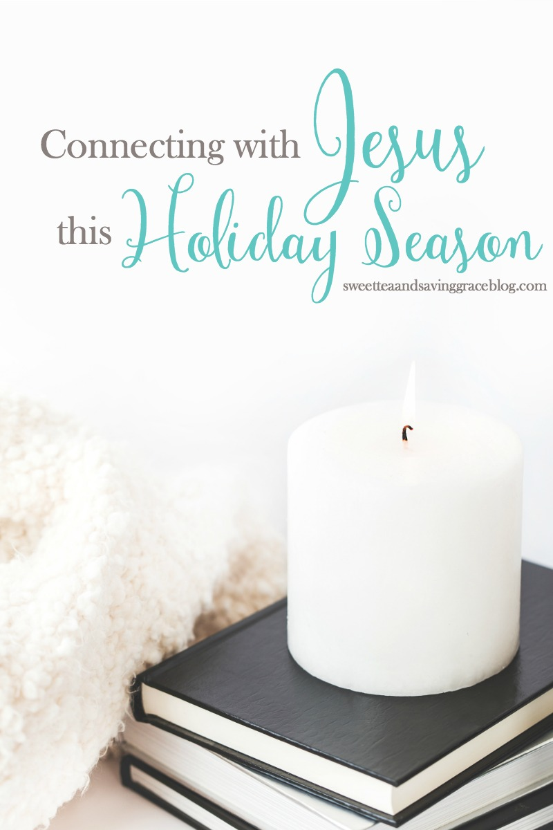 Don't let the holiday hustle keep you from creating a lasting connection with Jesus! Connecting with the Lord is simple and so beneficial.