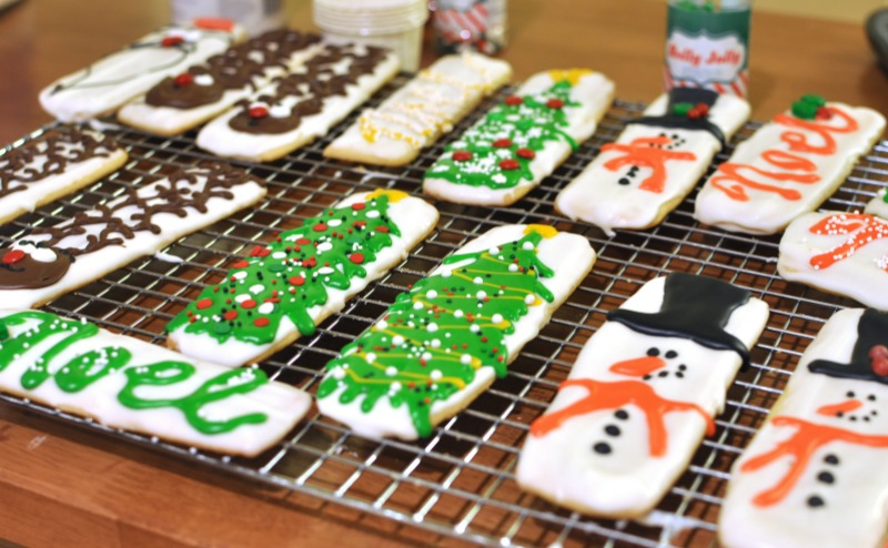 Christmas Character Cookie Sticks