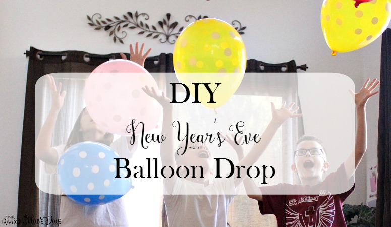 DIY New Year's Eve Balloon Drop
