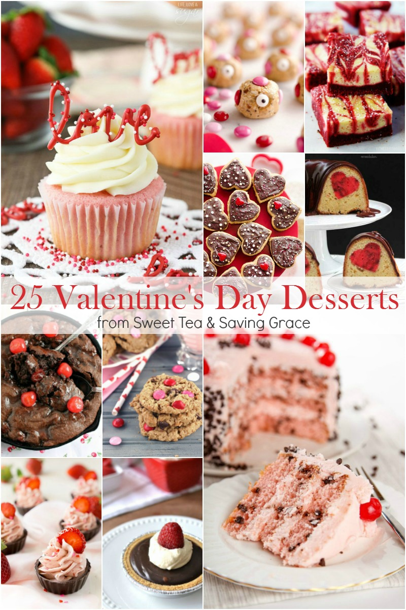 Surprise your sweeties with one of these 25 Valentine's Day Desserts to melt your heart!
