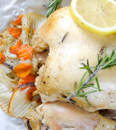 3 Ingredients You Need to Make Easy Rosemary Chicken