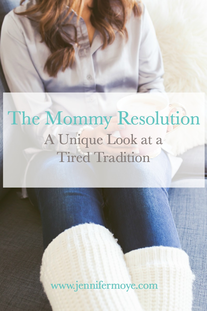 A unique look at the tired tradition of making resolutions. A Mommy Resolution challenges us to be the mom God created us to be - no comparisons and no guilt allowed!