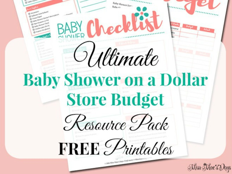 Baby Shower Resource Pack Free Printables
