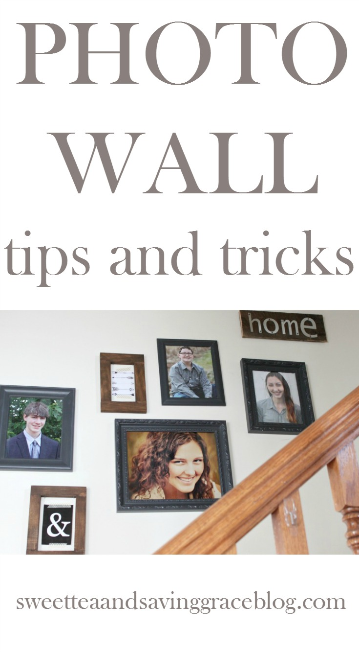 Photo wall tips and tricks. Learn how to arrange and hang a gallery wall with these tips!
