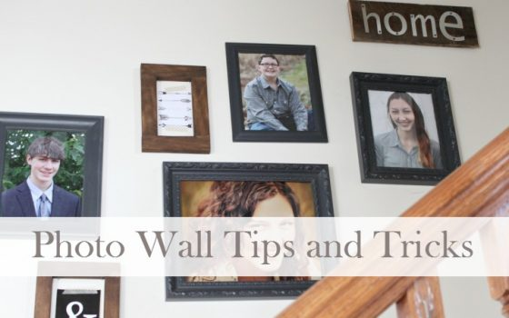 Photo Wall Tips:  How To Add Style To Your Stairwell