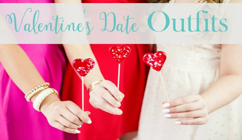 Valentine's Day is a great opportunity to dress up in pink and red! Mix and match these trendy pieces for the perfect Valentine's date outfits!