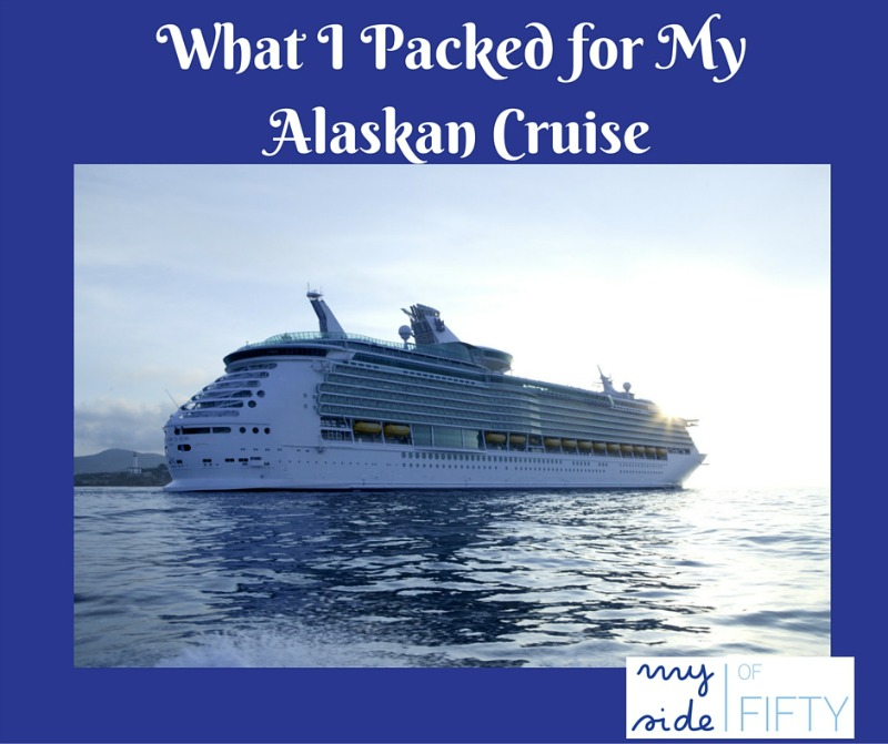 List of What I Packed for My Alaskan Cruise. List based on what I packed versus what I actually wore.