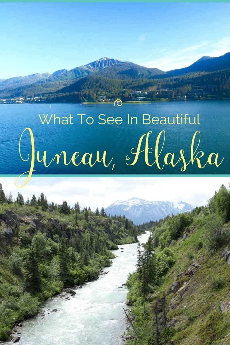 What to see in beautiful Juneau, Alaska. Go up 1800 feet to the top of Mt. Roberts on the Mt. Roberts Tramway. Have a dinner of King Crab Legs at the Twisted Fish Company Alaskan Grill