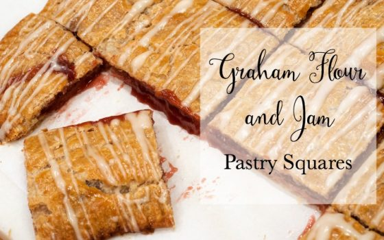 Graham-Flour and Jam Filled Pastry Squares