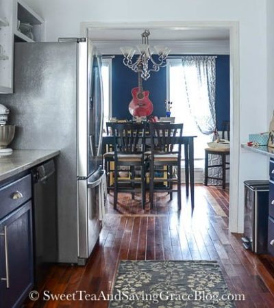 The Big Reveal: Rustic & Contemporary Kitchen Makeover