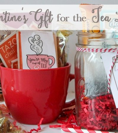 Sweet Valentine's Gift for the Tea Lover