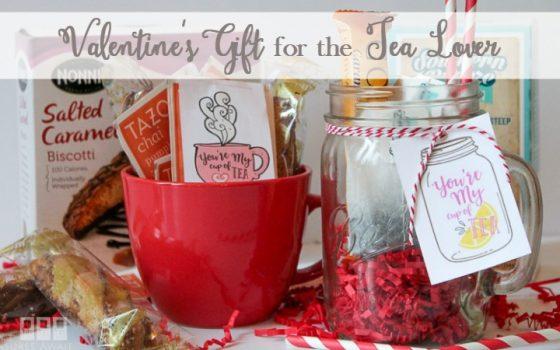 Sweet Valentine's Gift for the Tea Lover