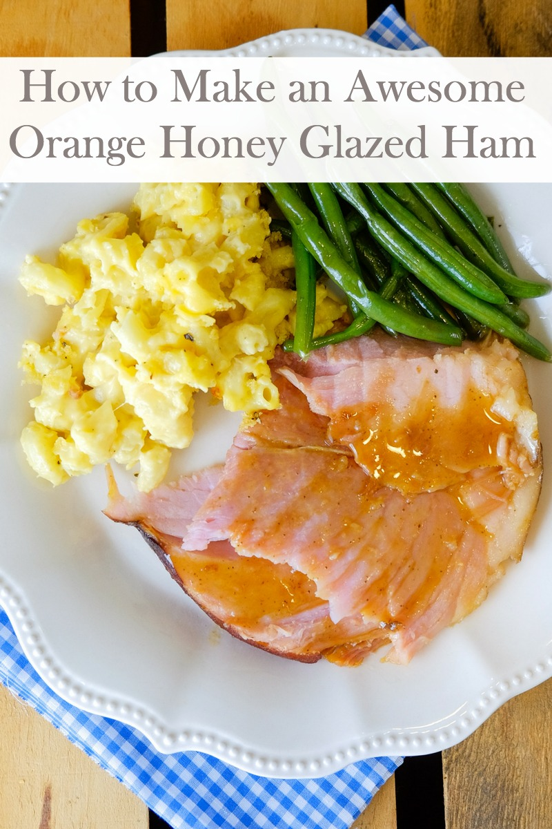 This awesome recipe for Orange Honey Glazed Ham is the perfect dish to make for not only the holidays, but any time of the year.
