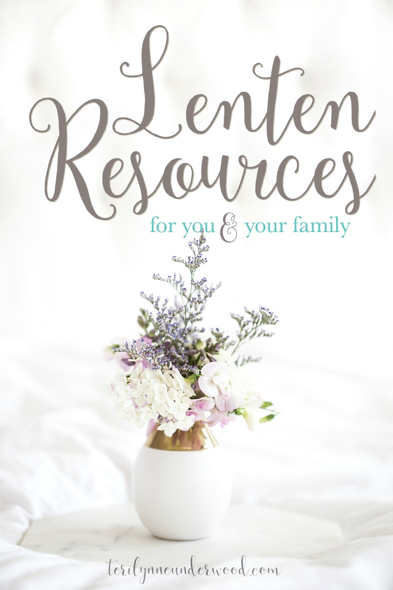 Whether you've practiced Lent your whole life or this is the first year you're considering it, these lenten resources for you and your family can help.