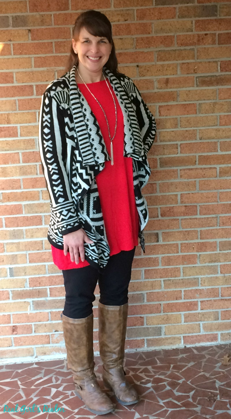 A tunic and leggings does not have to be boring. Create multiple looks by adding layers and accessories!