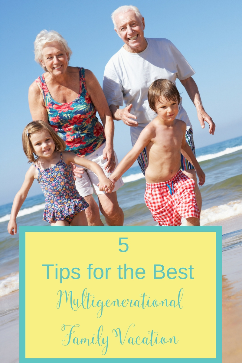 Traveling with extended family can be a super fun bonding experience. Follow these 5 planning trips to ensure that everyone has fun and wants to do it again!