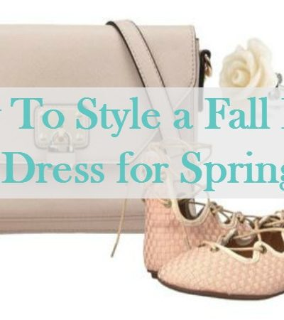 How to Style a Fall Floral Dress for Spring