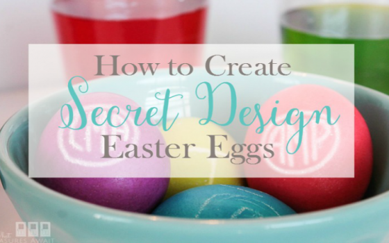 How to Create Easy Secret Design Easter Eggs