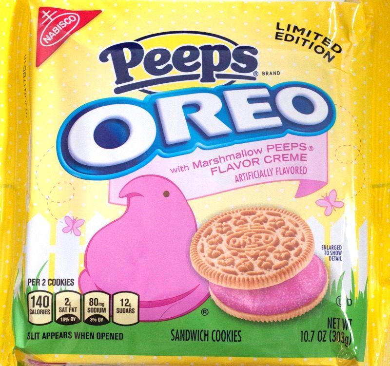 Oreo Peeps Poke Cake