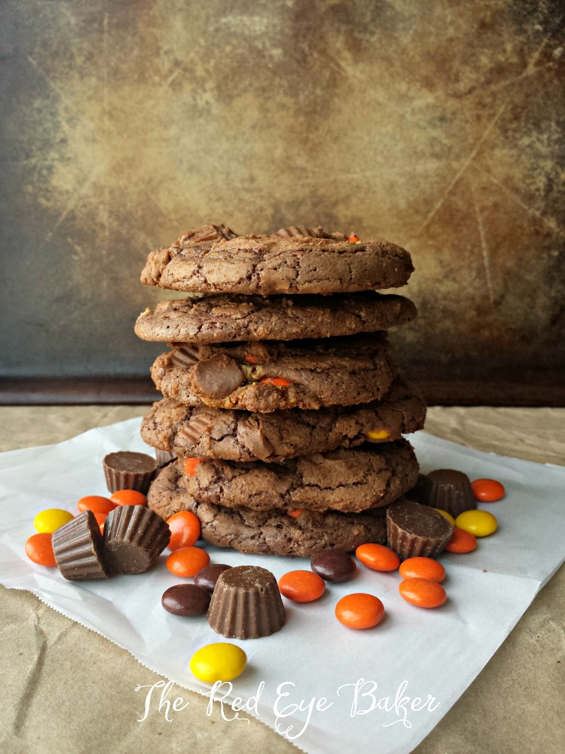 Reeses Brownie Cookies