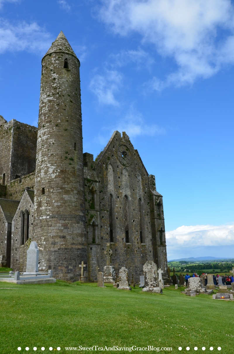 Rock of Cashel, also known as St. Patrick's Rock, is a stunning abbey located in County Tipperary, Ireland, a definite must-see on an Ireland vacation.