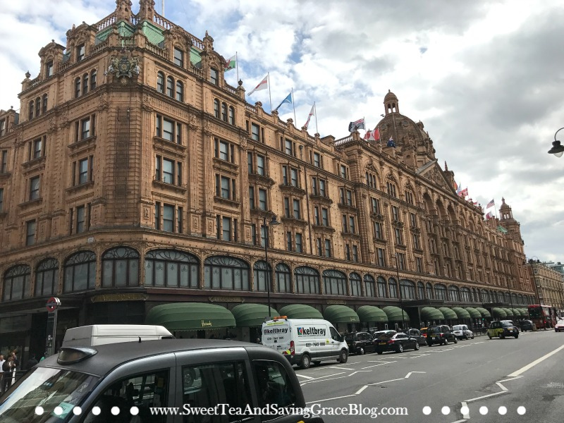 Harrod's Department Store is definitely a must-see when visiting London, England!