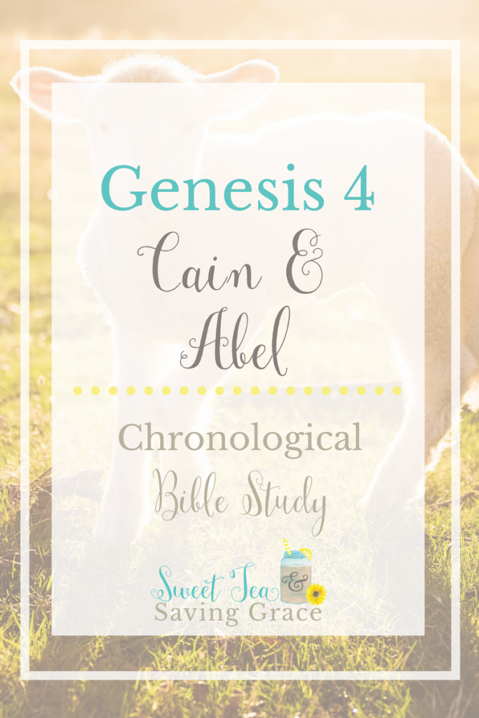 In Genesis 4, we see the first murder, Cain killing his brother Abel. Cain is cursed and his descendants continue to disobey God. Seth is born and begins the lineage of Jesus.