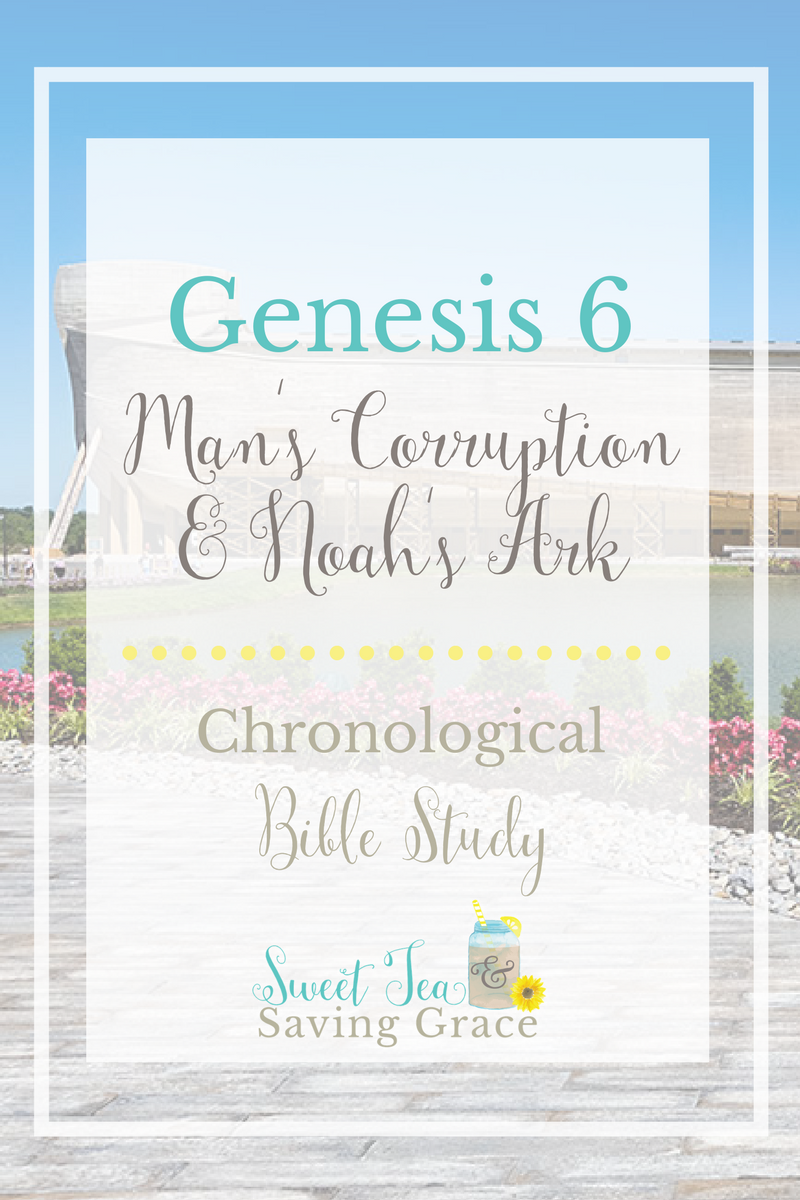 Genesis 6 provides us with an explanation of why God sends the flood and how (and why) He prepared Noah in advance. The first four verses, however, come with some biblical controversy and create more questions than answers.