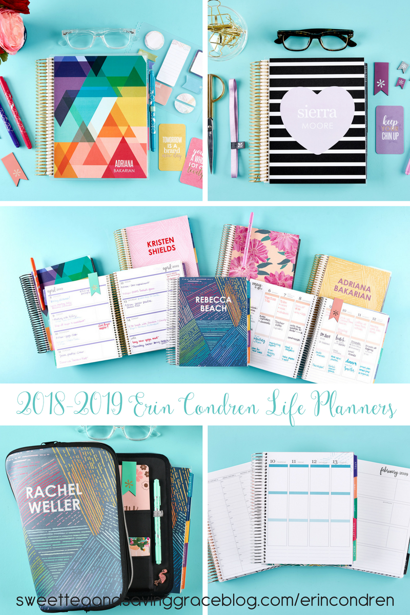 I have been an avid fan and loyal user of Erin Condren Life Planners since 2014, and while I have tried other paper planners, I always come back to my Erin Condren Life Planner because it's simply the best of the best and keeps getting better! The 2018-2019 Erin Condren Life Planners are HERE and they are amazing!!