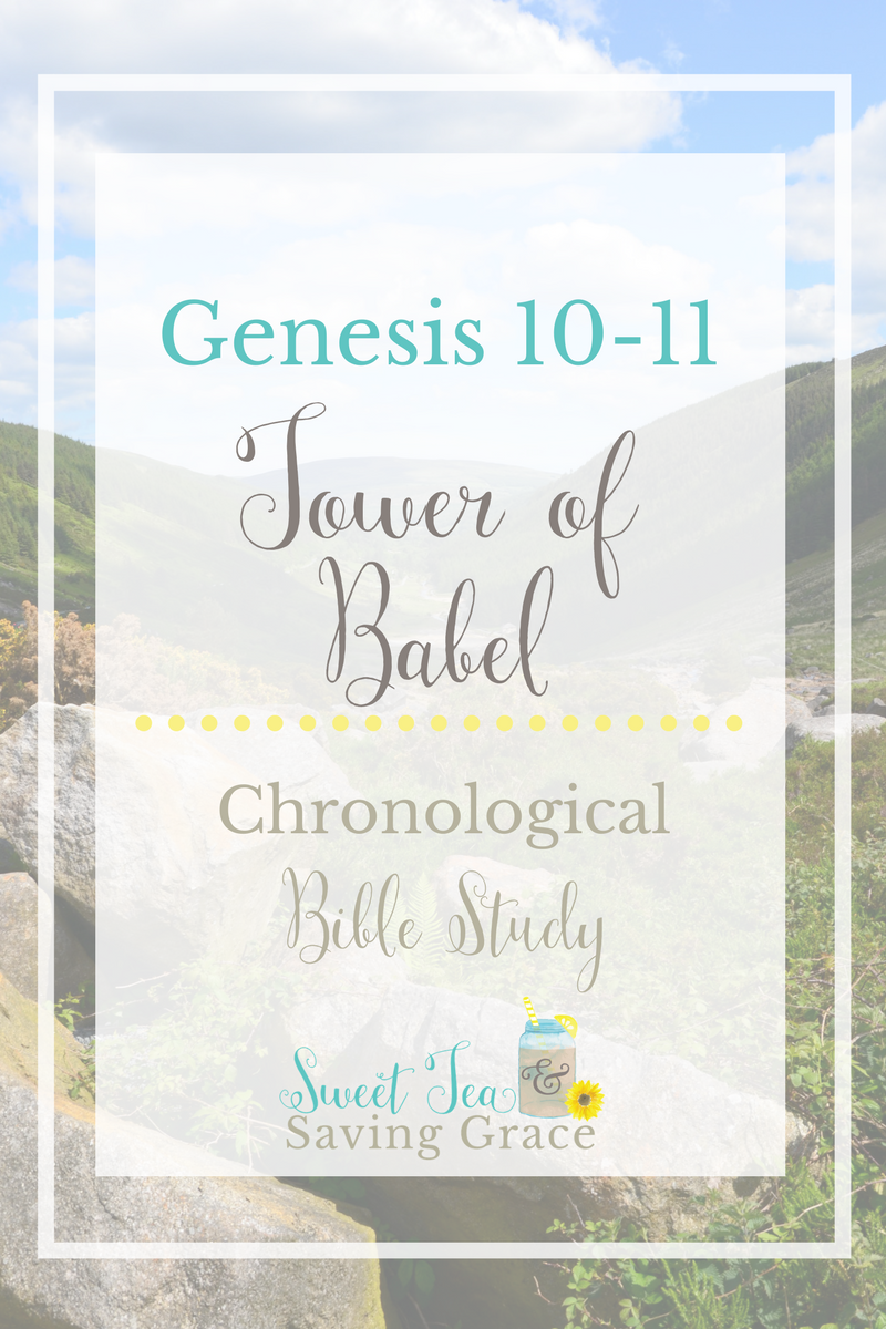 In Genesis 10-11, we get a closer look at Noah's sons and their descendants in the Table of Nations, as well as the beginning of modern civilization and the Tower of Babylon.