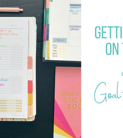 Getting Back on Track with Goal-Setting