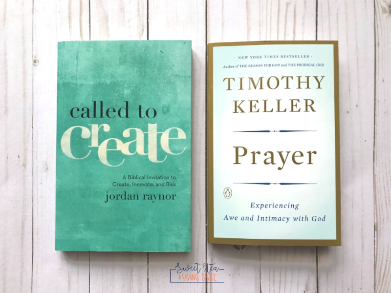 "I've put together a list of 8 books to read this fall, and in the Christian category I've included ""Called to Create"" by Jordan Raynor and ""Prayer"" by Timothy Keller."