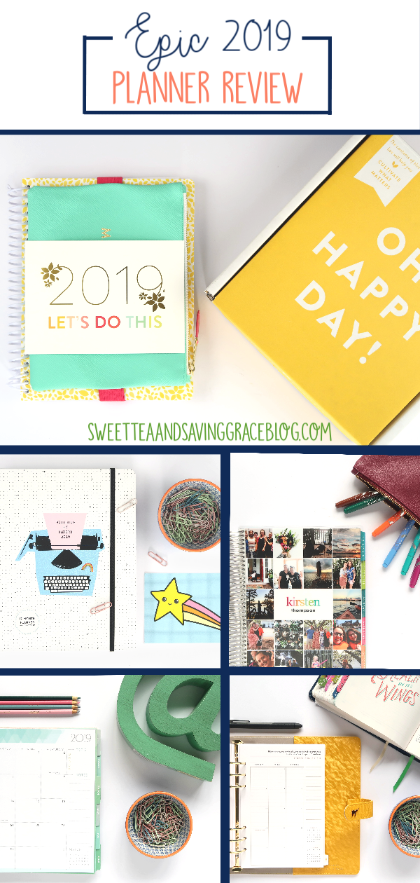 It's here! This EPIC 2019 Planner Review includes hundreds of detailed photos plus an in-depth video tour of each of the 7 planners. Take a look inside the Intentional Planner by Lucy Celebrates, Day Designer, InkWell Press, Plum Paper, Erin Condren, Pipsticks Planner, and the 2019 PowerSheets!
