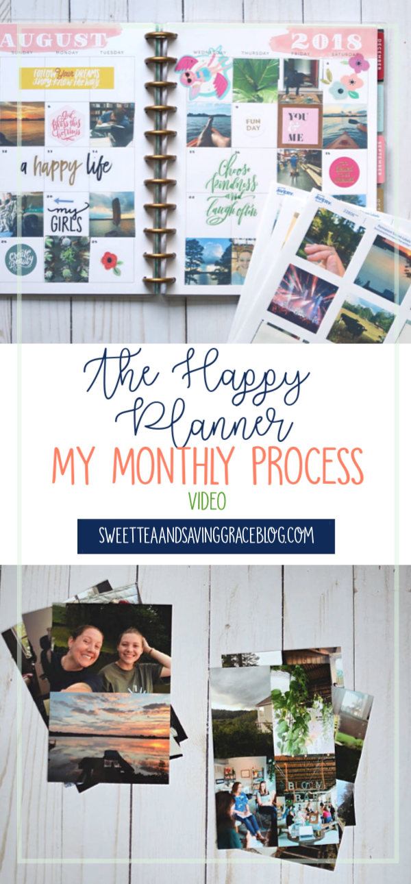 This Plan With Me video shares my full process for using The Happy Planner for memory keeping every month including organizing, editing, and printing photos, plus I show you a monthly spread from start to finish!