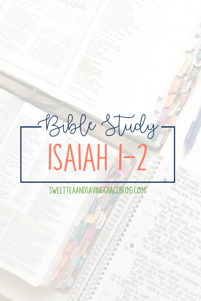 Isaiah chapters 1-2 begin a prophecy from God about the judgment on the nation of Israel and the world. God offers a choice that leads either to redemption through repentance, or destruction and death through sin.