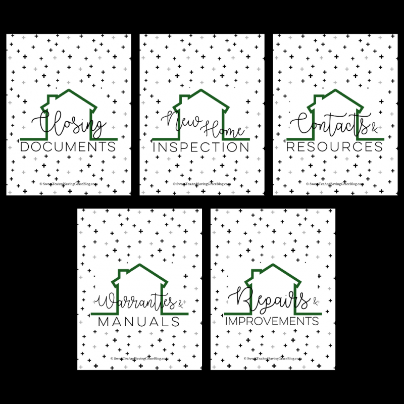 Moving is stressful enough, without having to keep up with contact info & important paperwork. These New Home binder printables will help you keep up with everything you need for your move, in a simple & clean binder that stays with you throughout the process. Plus, this makes a great realtor gift!